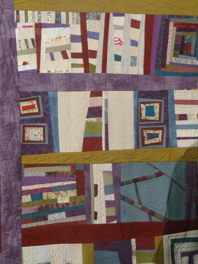 Eva's improvisational quilt